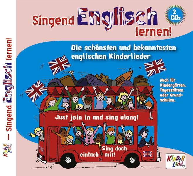 Singend Englisch lernen 2 CDs - Coverbild