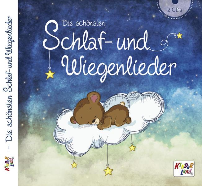 Die schönsten Schlaf- und Wiegenlieder 2CDs - Coverbild