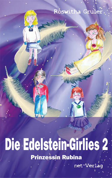 Die Edelstein-Girlies 2 - Prinzessin Rubina - Coverbild