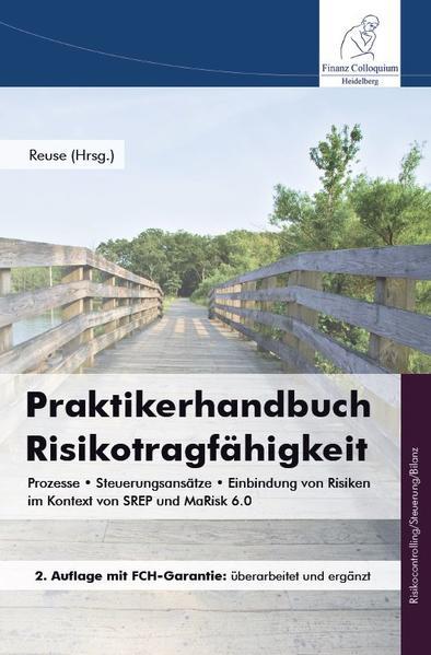 Praktikerhandbuch Risikotragfähigkeit  - Coverbild