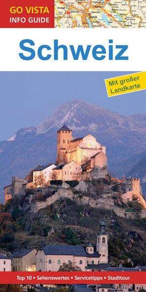 GO VISTA: Reiseführer Schweiz - Coverbild