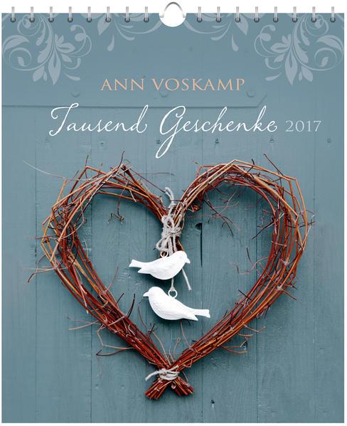 Tausend Geschenke 2017 - Postkartenkalender * - Coverbild