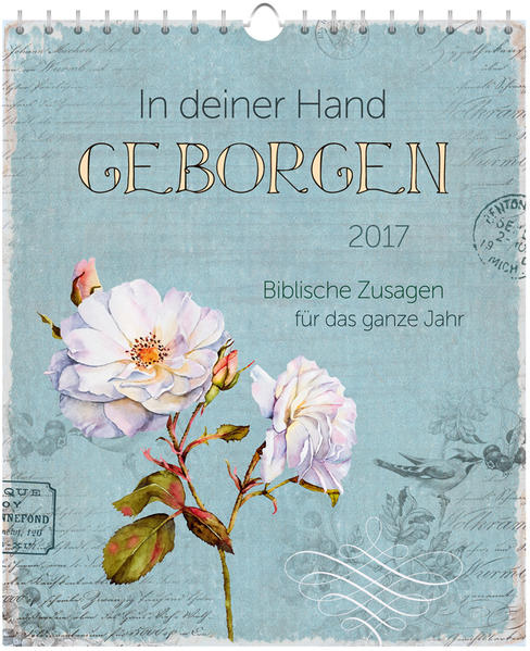 In deiner Hand geborgen 2017 - Postkartenkalender * - Coverbild