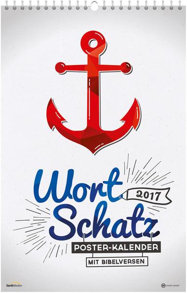 WortSchatz 2017 - Poster-Kalender * - Coverbild