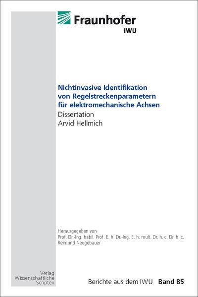 Nichtinvasive Identifikation von Regelstreckenparametern für elektromechanische Achsen - Coverbild
