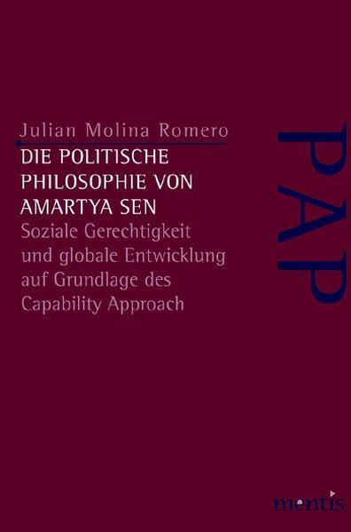 Die politische Philosophie von Amartya Sen - Coverbild
