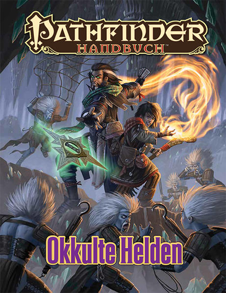 Handbuch Okkulte Helden - Coverbild