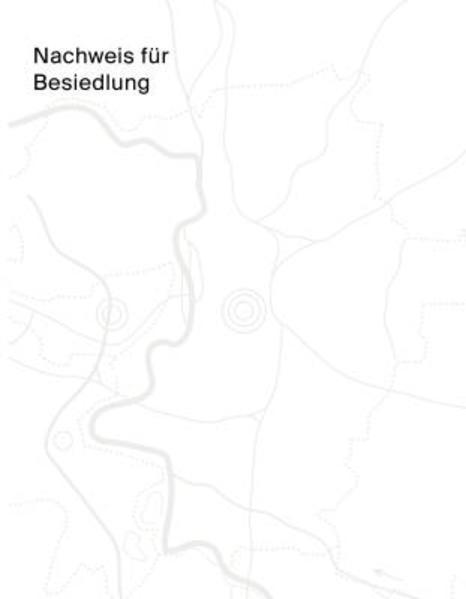 Nachweis für Besiedlung - Coverbild