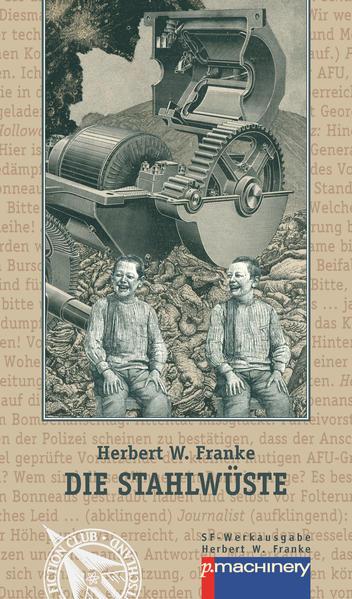 Die Stahlwüste - Coverbild