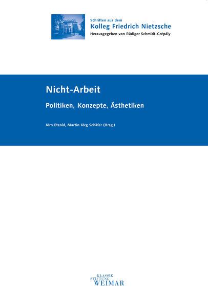 Nicht-Arbeit - Coverbild