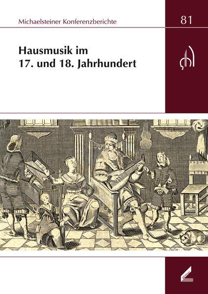 Hausmusik im 17. und 18. Jahrhundert - Coverbild
