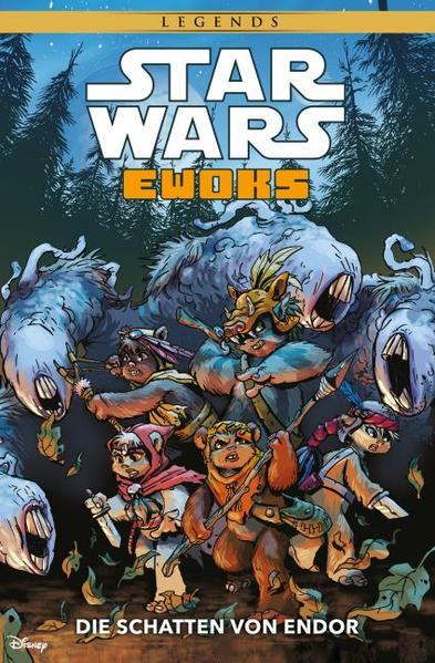 Star Wars: Ewoks - Die Schatten von Endor - Coverbild