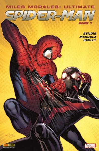 Miles Morales: Ultimate Spider-Man - Coverbild