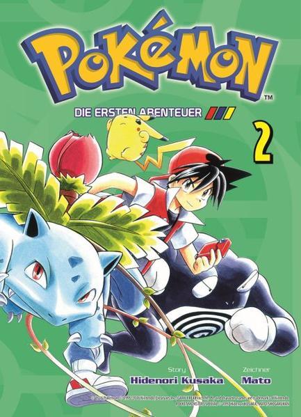 Pokémon - Die ersten Abenteuer - Coverbild