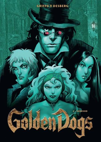 Golden Dogs - Coverbild
