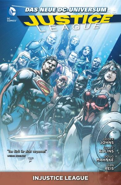 Justice League - Coverbild