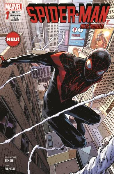 Spider-Man: Miles Morales - Coverbild