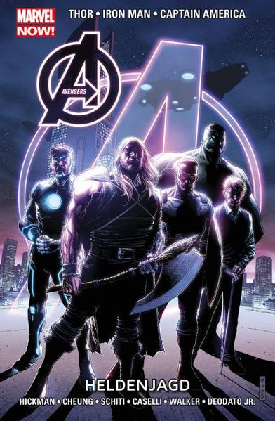 Avengers – Marvel Now! - Coverbild