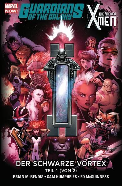 Guardians of the Galaxy & die neuen X-Men: Der schwarze Vortex  - Coverbild