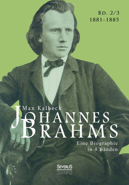 Johannes Brahms. Eine Biographie in vier Bänden. Band 3 - Coverbild