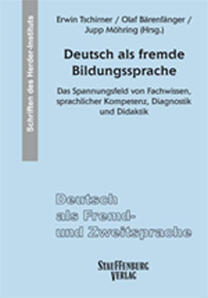 Deutsch als fremde Bildungssprache - Coverbild