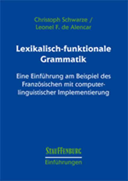 Lexikalisch-funktionale Grammatik - Coverbild