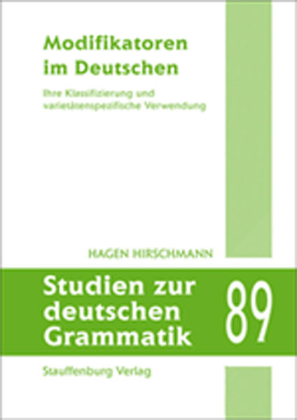 Modifikatoren im Deutschen - Coverbild