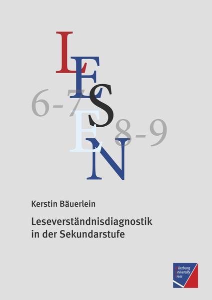 Leseverständnisdiagnostik in der Sekundarstufe - Coverbild