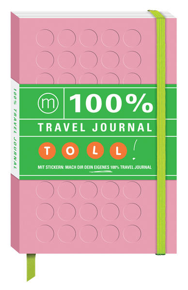 100% Travel Journal pink - Coverbild