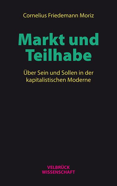 Markt und Teilhabe - Coverbild