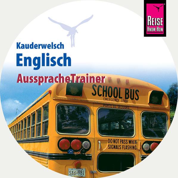 Reise Know-How Kauderwelsch AusspracheTrainer Englisch (Audio-CD) - Coverbild