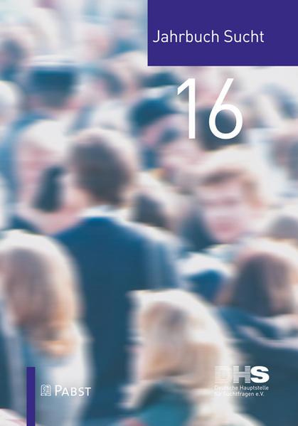 Jahrbuch Sucht 2016 - Coverbild