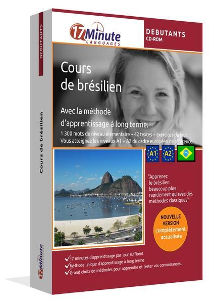 Cours de Brésilien (POUR DEBUTANTS) - Coverbild