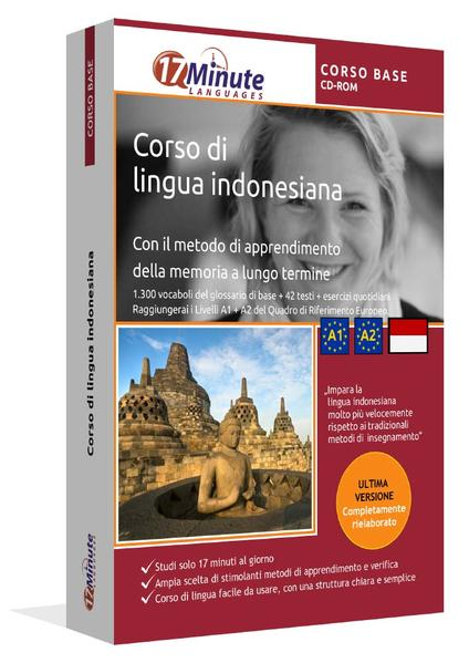 Corso di Indonesiano (CORSO BASE) - Coverbild