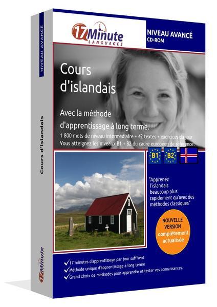 Cours d'islandais (NIVEAU AVANCE) - Coverbild