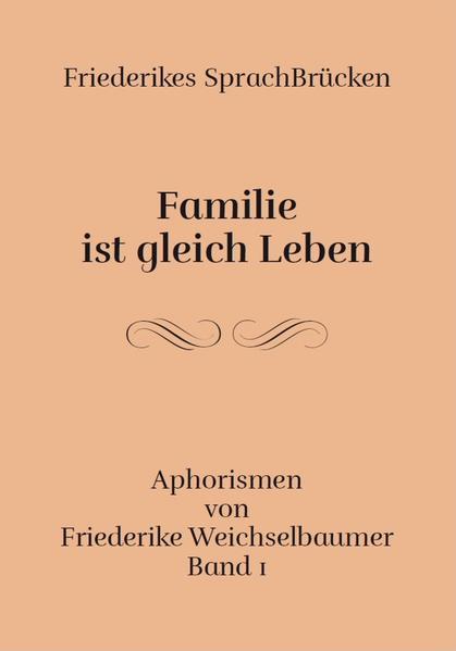 Familie ist gleich leben - Coverbild