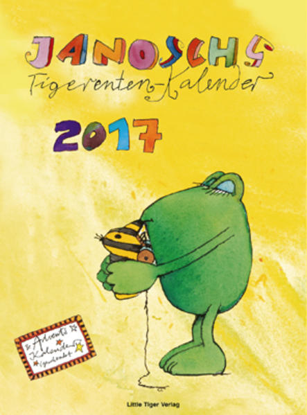 Tigerentenkalender 2017 - Coverbild
