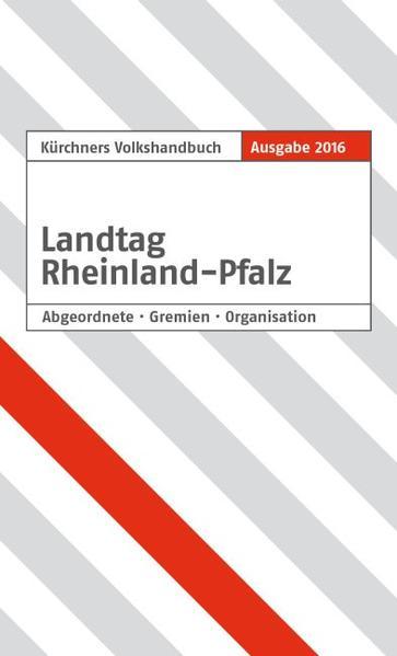Kürschners Volkshandbuch Landtag Rheinland-Pfalz - Coverbild