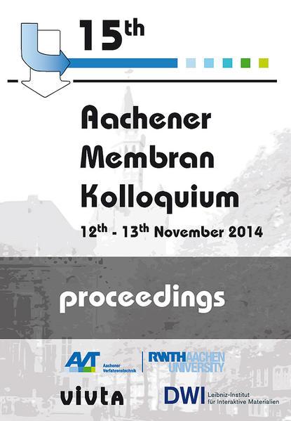 15. Aachener Membran Kolloquium - Coverbild