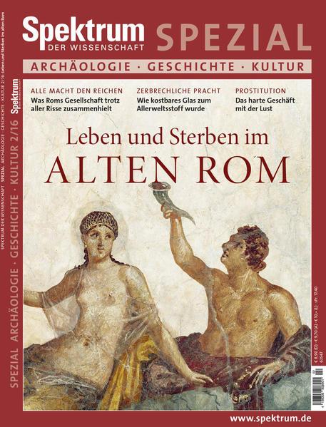 Leben und Sterben im Alten Rom - Coverbild