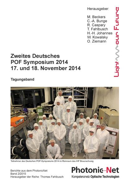 Zweites Deutsches POF Symposium 2014 - Coverbild