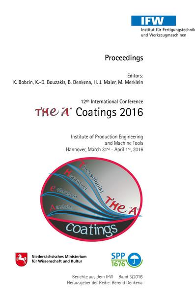 "THe ""A"" Coatings 2016 - Coverbild"