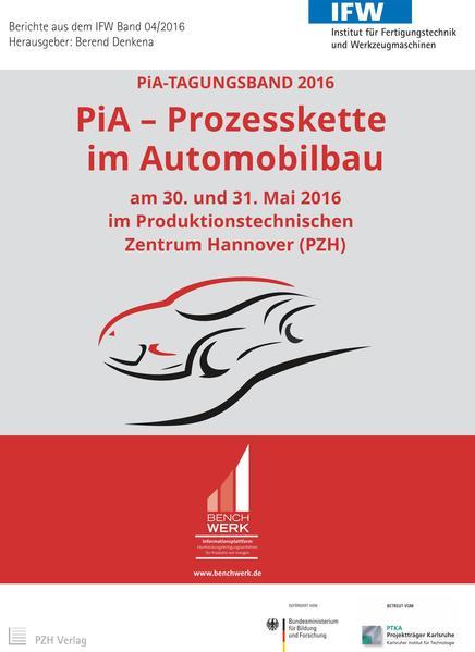 PiA - Prozesskette im Automobilbau - Coverbild