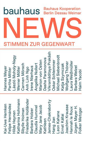 bauhaus news: Positionen zur Gegenwart / Present Positions - Coverbild