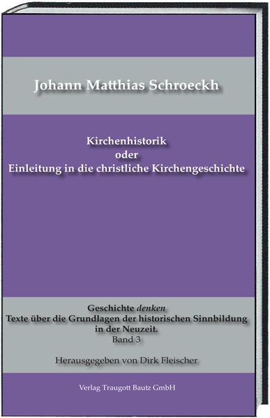 Kirchenhistorik oder Einleitung in die christliche Kirchengeschichte - Coverbild