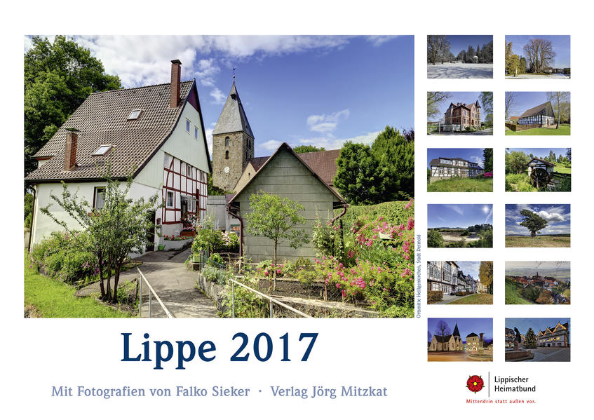 Lippe Kalender 2017 - Coverbild