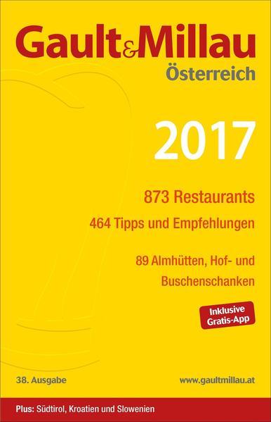 Gault&Millau Österreich 2017 - Coverbild