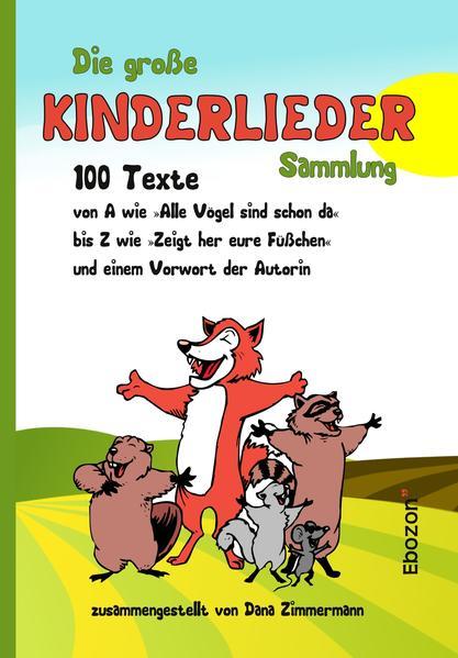 Die große Kinderlieder Sammlung - Coverbild