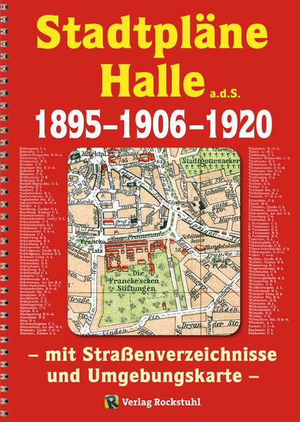 Stadtpläne Halle a.d.S. 1895–1906–1920 [STADTPLAN] - Coverbild