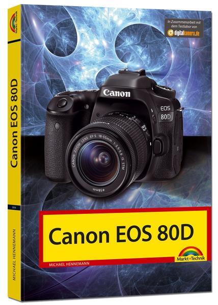 Canon EOS 80D - Das Handbuch - Coverbild